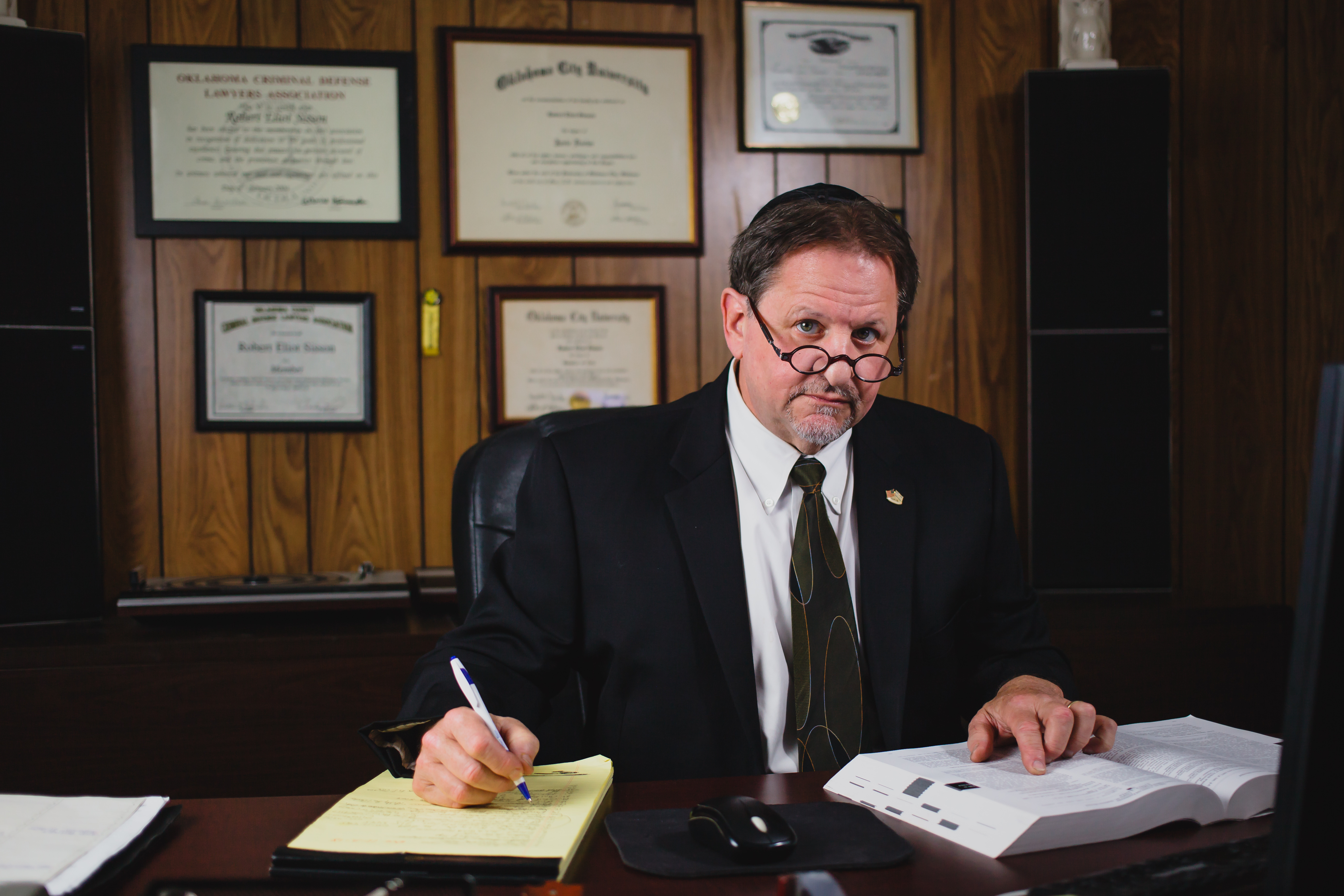 Robert Sisson A OKC Attorney Hard At Work For You.
